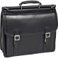 McKlein Halsted Double Compartment Leather Laptop Briefcase