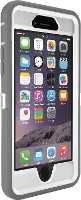 OtterBox iPhone 6 Defender Series Case (White/Gunmetal Grey w/ Pink Camo)