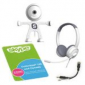 Skype 3-Mos. Unlimited US & Canada Calling Subscription Card w/ Webcam & Headset
