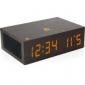 GOgroove BlueSYNC TYM Bluetooth Wireless Wood Stereo Speaker & Alarm Clock